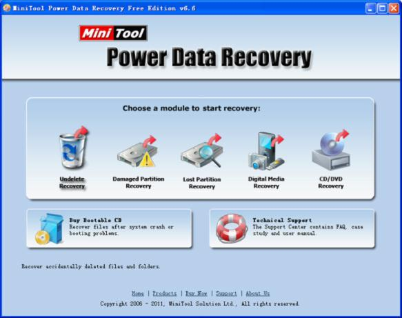 Recover deleted files with the free file recovery software.
